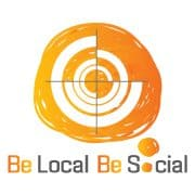 Be Local Be Social Logo
